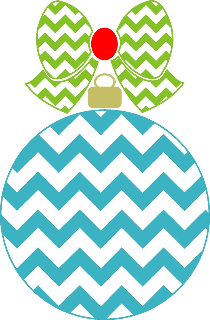 Chevron Ornament with Chevron bow