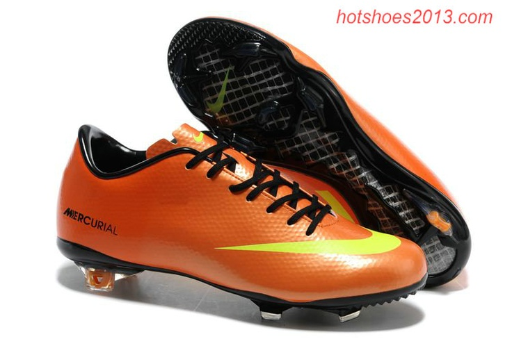 Nike Mercurial 2012 Soccer Cleats Orange Yellow under $ 50.00 http://forinstantpurchase.com/sneakers