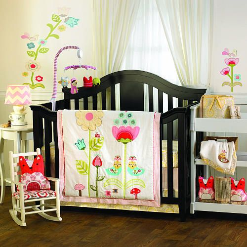 scarlet 4 piece crib bedding set living textiles babies r us nursery c pinterest. Black Bedroom Furniture Sets. Home Design Ideas