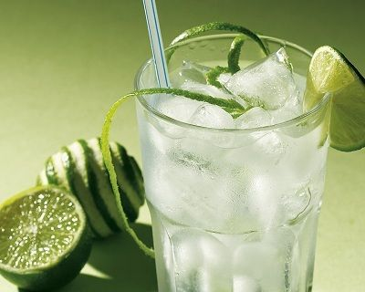 [Gin & (diet) Tonic is one of the lowest alcoholic drinks you can have with just 96 calories!]