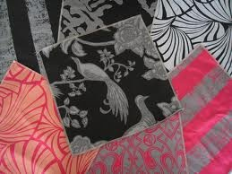 Florence Broadhurst Fabric (source Signature Prints) / Wallpaper Australia / The Ivory Tower