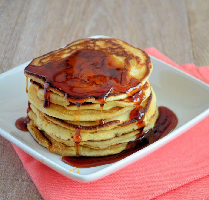 Lekker als ontbijt, lunch of gewoon tussendoor: American pancakes. Dit recept is een absolute topper, je kunt er eindeloos mee variëren.