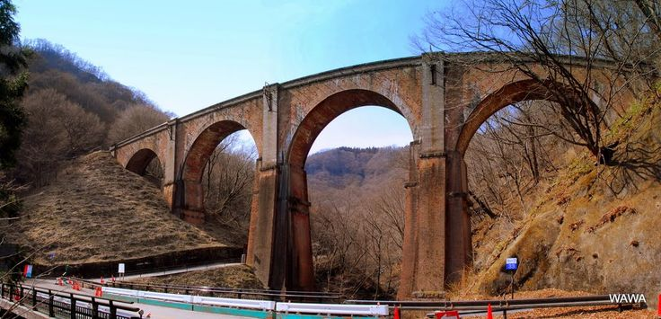 Usui 3rd Railway Bridge  めがね橋(旧信越本線碓氷第三橋梁) 碓氷峠旧道