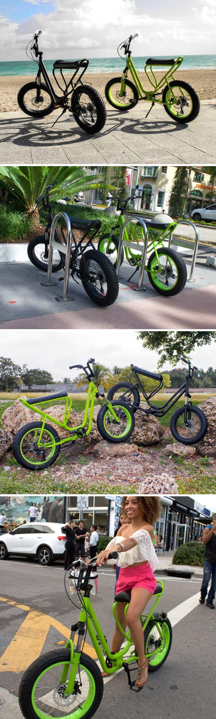 This bike is a beach-cruising, urban-commuting, campus-crushing, errand-running, path-pounding all-rounder!