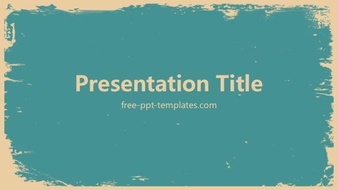 Retro Powerpoint Template Powerpoint Templates Templates Powerpoint