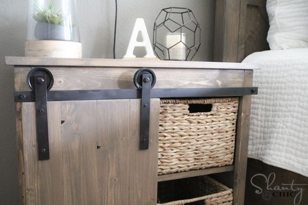 Build your own DIY Barn Door Hardware for $20! Watch the free how-to video as we take you step-by-step through the entire build at www.shanty-2-chic.com