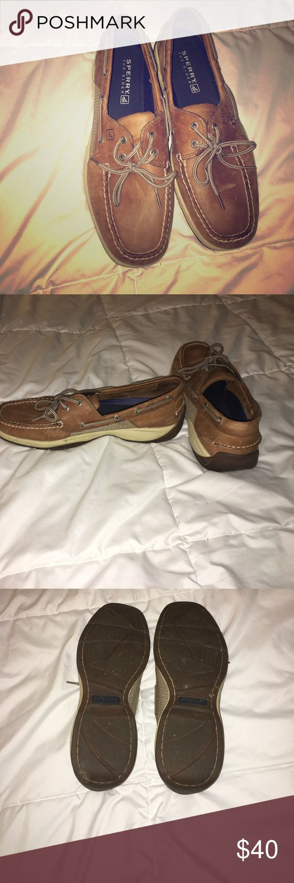 Men's Sperry Boat Shoes Very gently worn men's Sperry boat shoes Sperry Top-Sider Shoes Boat Shoes
