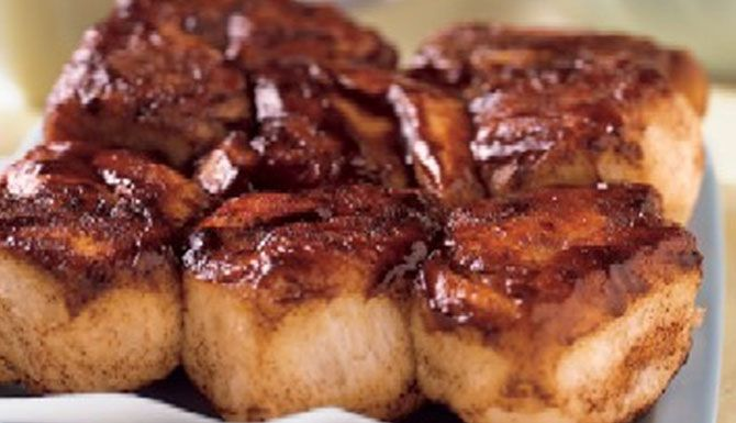 Christmas Morning - Traeger Sticky Buns