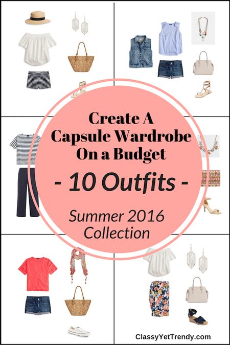 The Essential Capsule Wardrobe: Summer 2016 Collection