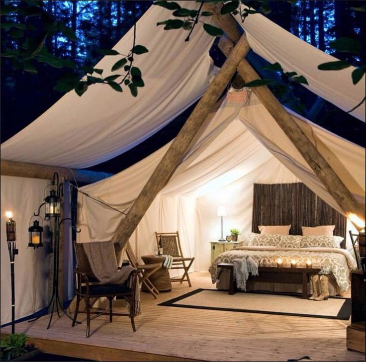 Glamping Essentials so silly but so fun