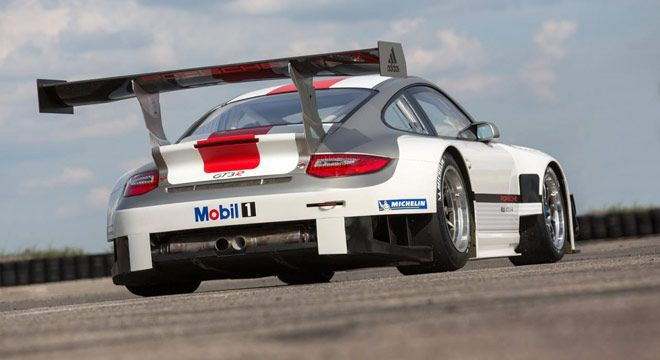 Porsche 911 GT3 R 2013 Versi Update, Penyempurnaan Downforce
