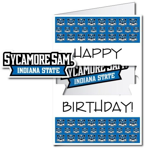 63 best giant birthday cards images on pinterest envelopes funny indiana state university 2x3 giant birthday greeting card plus yard sign m4hsunfo Gallery