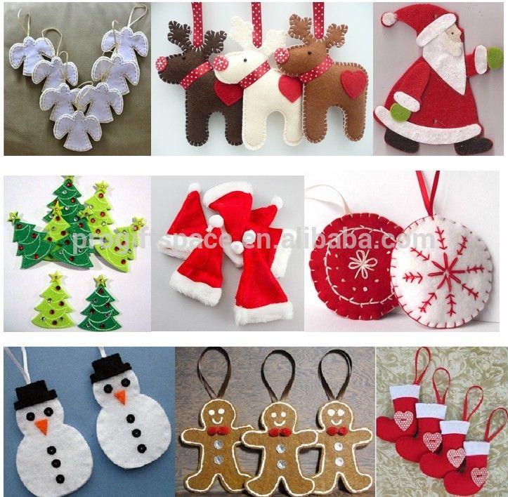 Related Image Felt Christmas Ornaments Christmas Ornaments Christmas Tableware