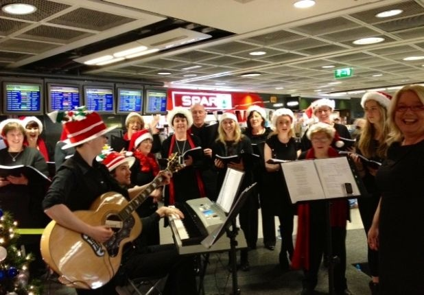 St. Paul's Community Singers perform in T1, Dec 16.
