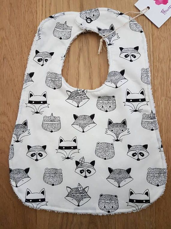 Check out this item in my Etsy shop https://www.etsy.com/au/listing/514849777/tribal-foxes-baby-bibs-with-absorbent