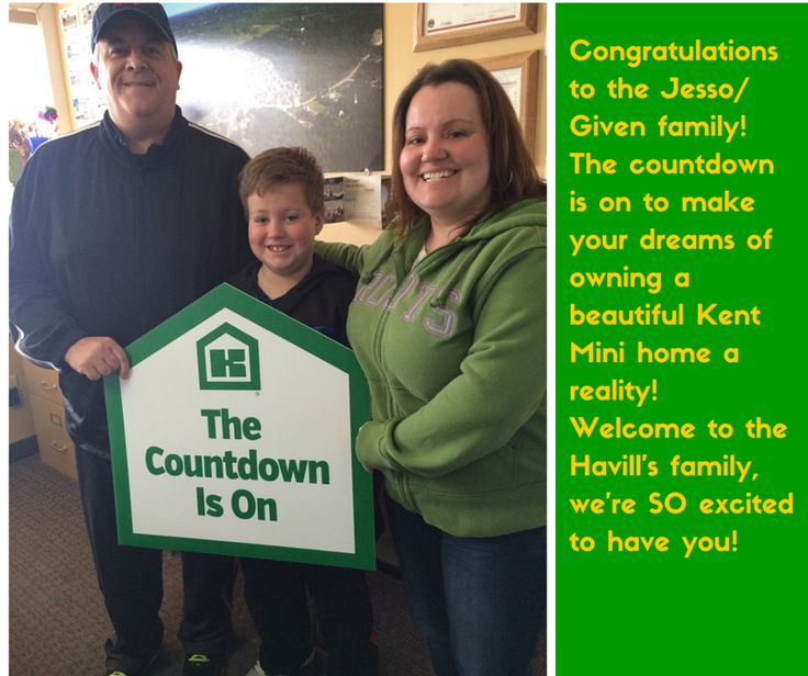 We hope you enjoy your new Kent mini home for years to come!!