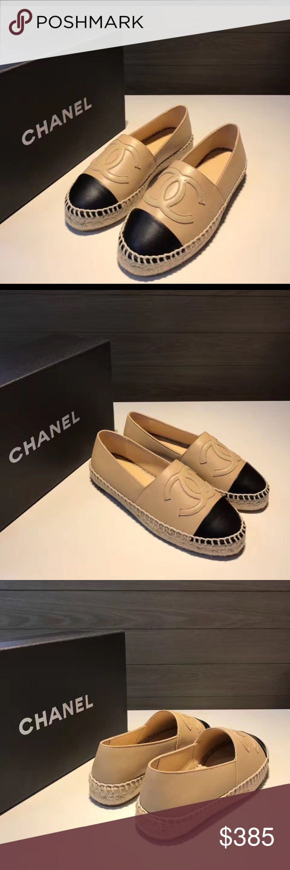 Chanel Espadrilles ❗️ THIS LISTING IS FOR SALE THRU 🅿️🅿️ ONLY ❗️  other colors//sizes available per request! (Price lower on PP) CHANEL Shoes Espadrilles
