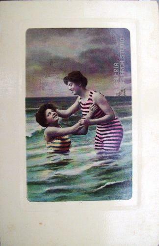Antiguas Postales Fotográficas Mujeres Para Adulto