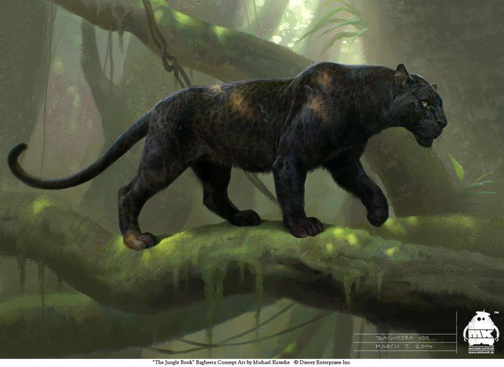 The Jungle Book: Bagheera concept by michaelkutsche on DeviantArt