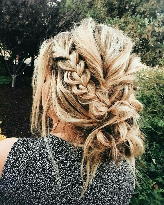 suuuuch a gorgeous updo! Wedding updo for sure!  #UpdosBraided