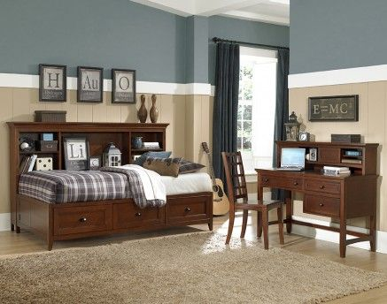 Magnussen Home Youth Bedroom Riley Lounge Bed   Full 503197   Furniture  Fair   Cincinnati U0026 Dayton OH And Northern KY