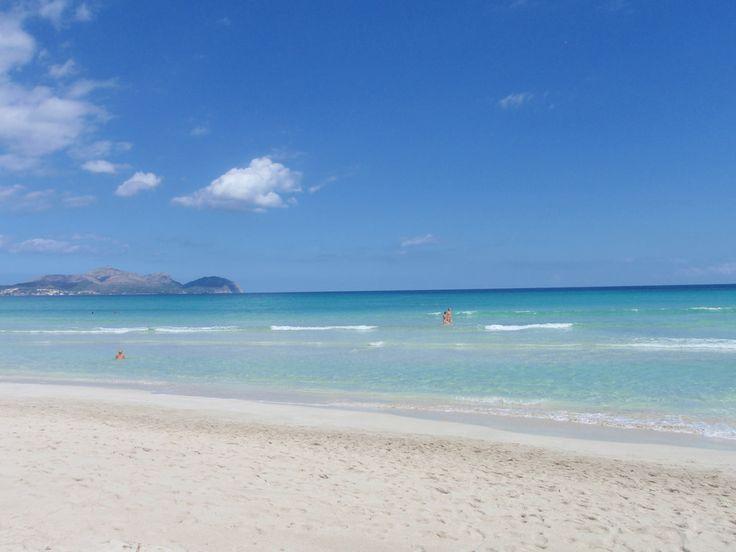 La #plage de Muro, près de #CanPicafort à #Majorque. #Baléares #Espagne
