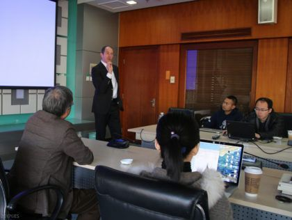 CHINA: Enno Schmidt speaks on basic income in Beijing | Basic Income News