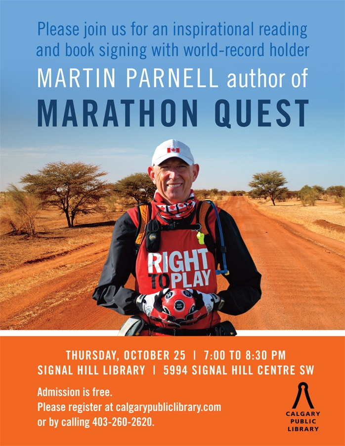 50 best red deer reads 2015 book suggestions images on pinterest marathon quest book signing with martin parnell fandeluxe Images