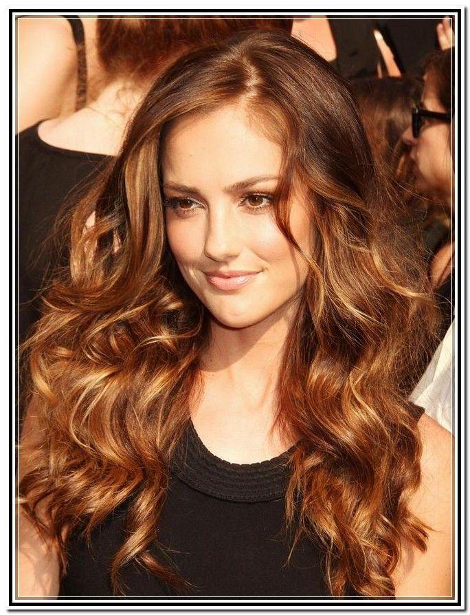 Brunette Haarfarbe