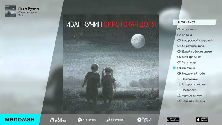 иван кучин альбом небесные цветы 2012 слушать