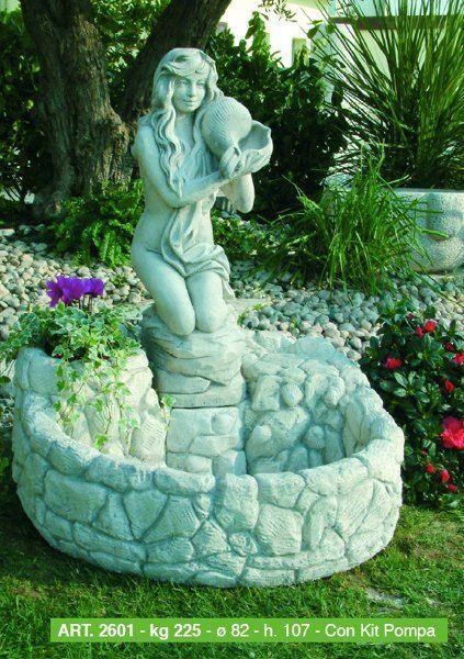 Oltre 25 fantastiche idee su statue da giardino su - Accessori per fontane da giardino ...