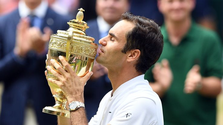 Federer wins record 8th Wimbledon championship - CBC Sports - Tennis