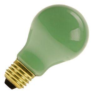 Standaard-lamp 15 watt E27 groen