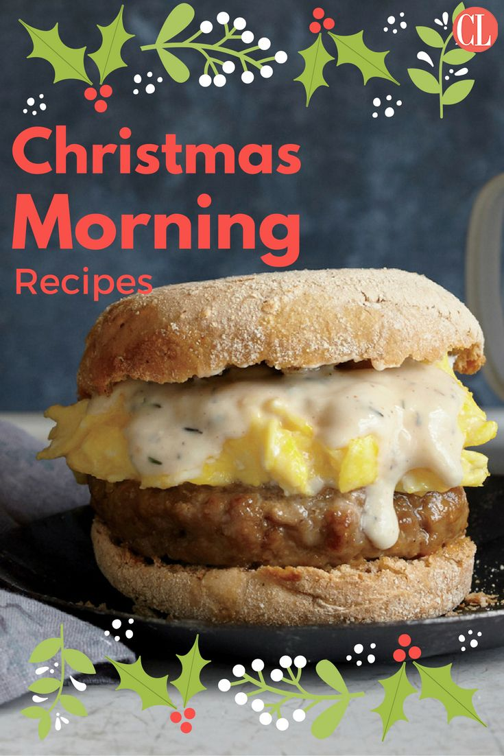 Spend your Christmas morning cooking up a few of our yummiest wintertime dishes. | Cooking Light