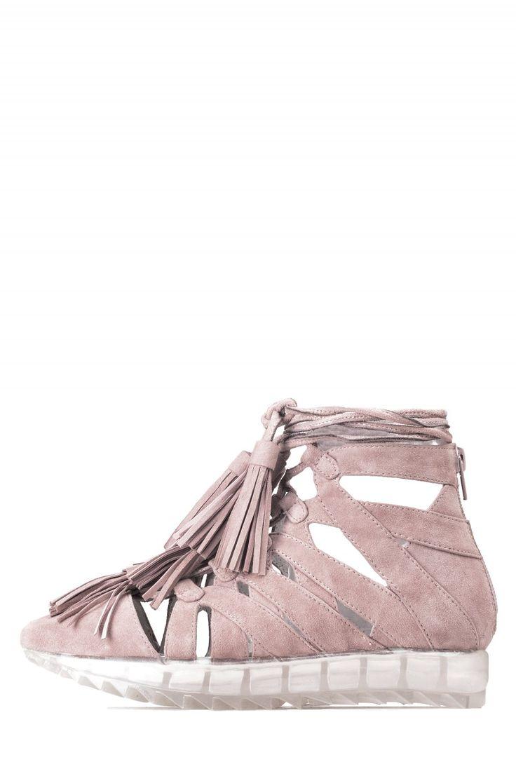 Jeffrey Campbell Shoes APPIAN-TSL Sneakers in Pink