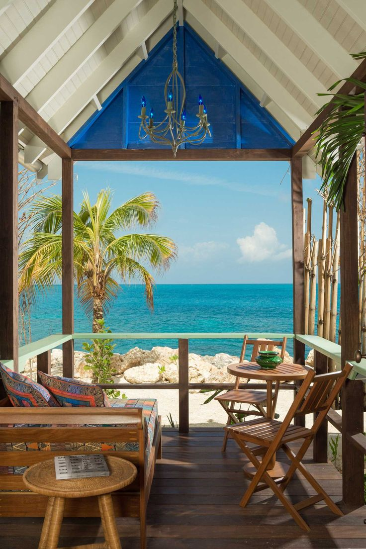 Beach Huts at GoldenEye Resort, Jamaica | 10 Jaw-Dropping Tropical Villas to Add to Your Summer Vacation List [SLIDESHOW]