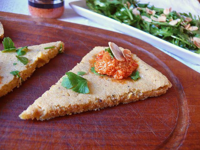 Vöröskaktusz diétázik: Farinata di ceci (csicseriborsós lepény)