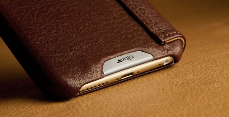 Wallet + iPhone 6 Plus Leather Case