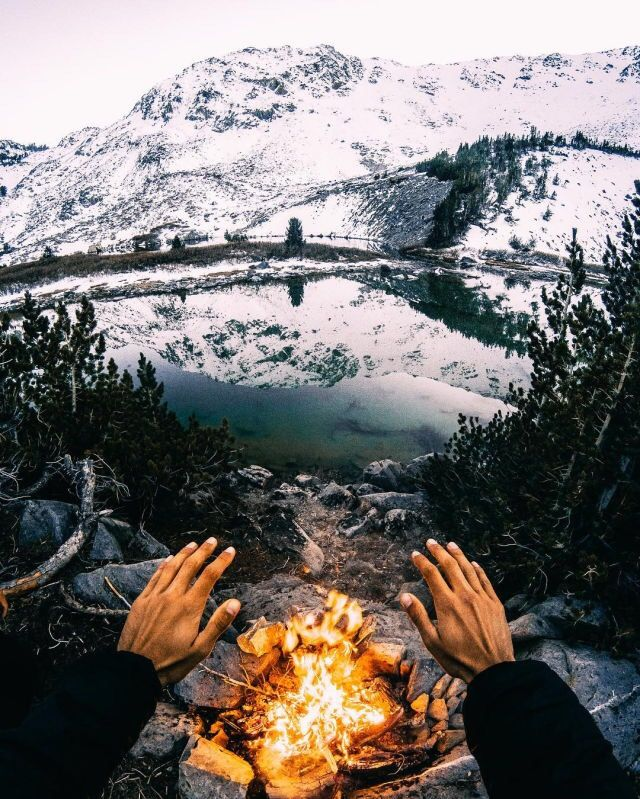 Keeping warm in the mts
