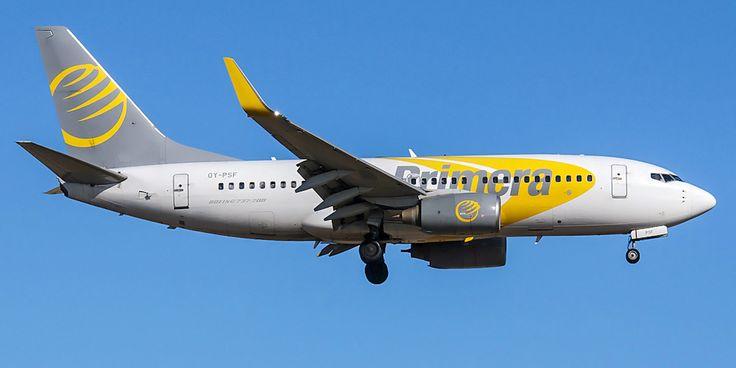Боинг-737-700 авиакомпании Primera Air Scandinavia