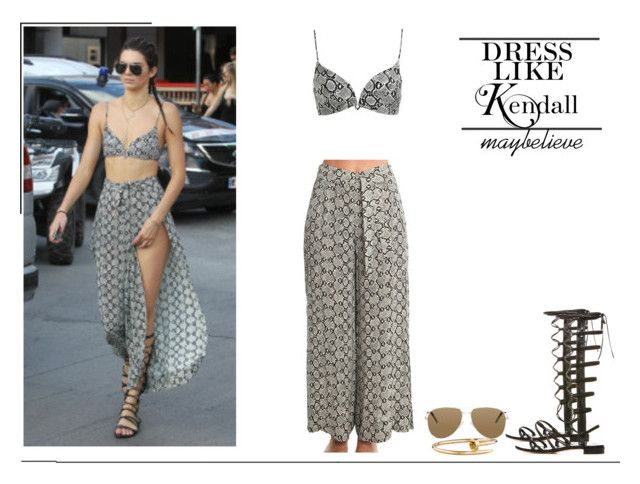 Kendall Jenner #9 by maybelieve on Polyvore featuring moda, Zimmermann, Stuart Weitzman, Cartier and Yves Saint Laurent