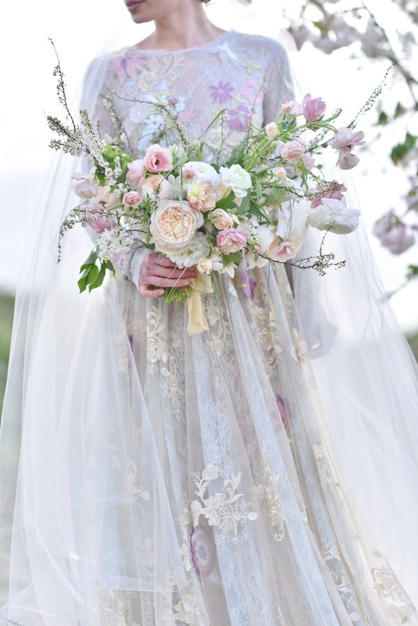 Wildly beautiful pastel bouquet