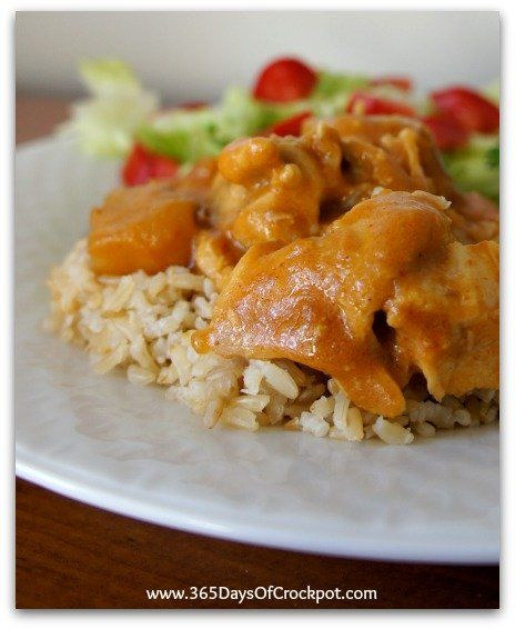 365 Days of Slow Cooking: Slow Cooker Chicken Massaman Curry (Updated Recipe!)