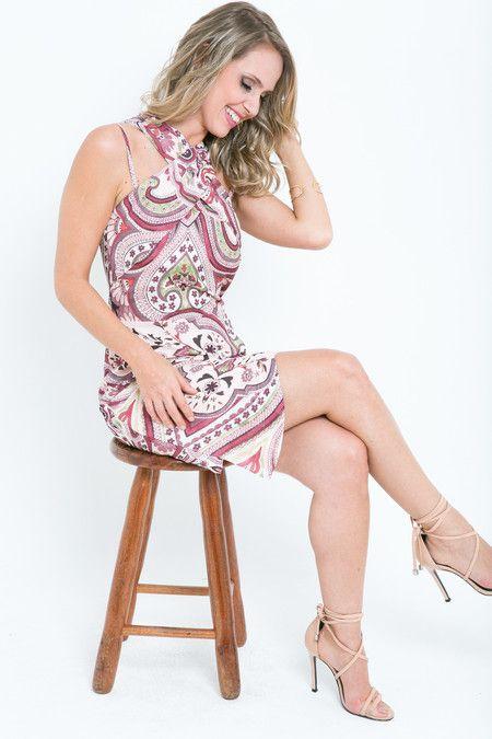 Vestido cruzado Story - Mari Villani
