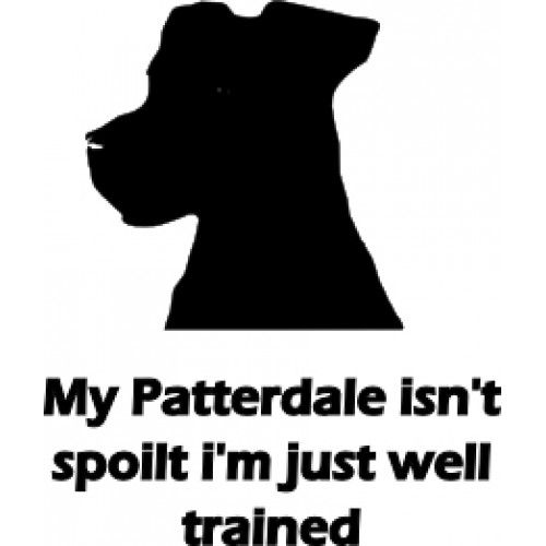 Patterdale Terrier - Spoilt (Free personalisation)