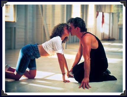"""Dirty Dancing"" (1987), Jennifer Grey and Patrick Swayze"