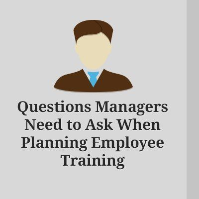 Nothing makes a business stronger that the employees that work for it. At the same time, there is no way to have successful and high-performing employees without proper training. At the following article you will find 5 questions that you have to answer before planning employee training.