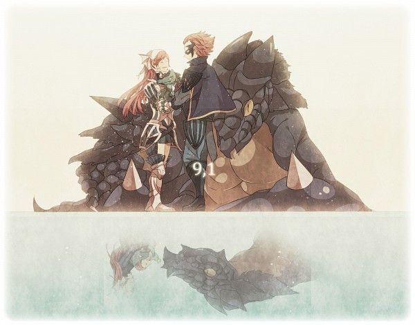 Fire Emblem: Awakening, mother and son <3