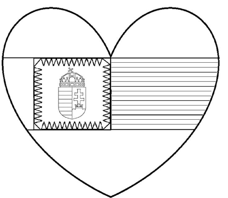 Március 15. színező, írható 1.-2.o. vonalazású