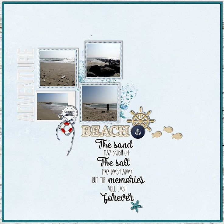 Seaside Calls - Collab by  by designs by anita  at The Digital Press    and by ninigoesdigi    http://shop.thedigitalpress.co/Seaside-calls-Collection.html
